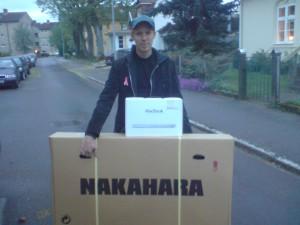 Joacim köpte en cykel och fick en Mac på köpet.