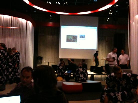 Presentation av sponsorer så som Blocket, Bonniers, SvD, Microsoft och Wyatt