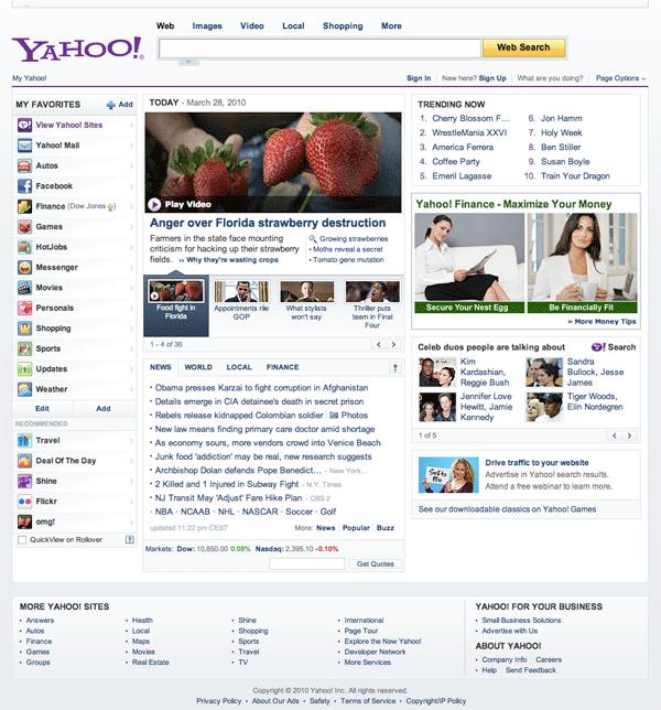 Yahoo.com 2010